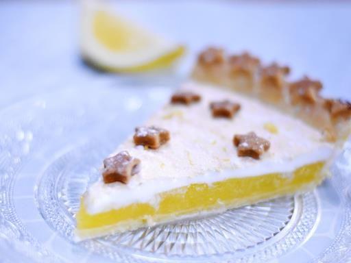 'The' tarte au citron meringuée
