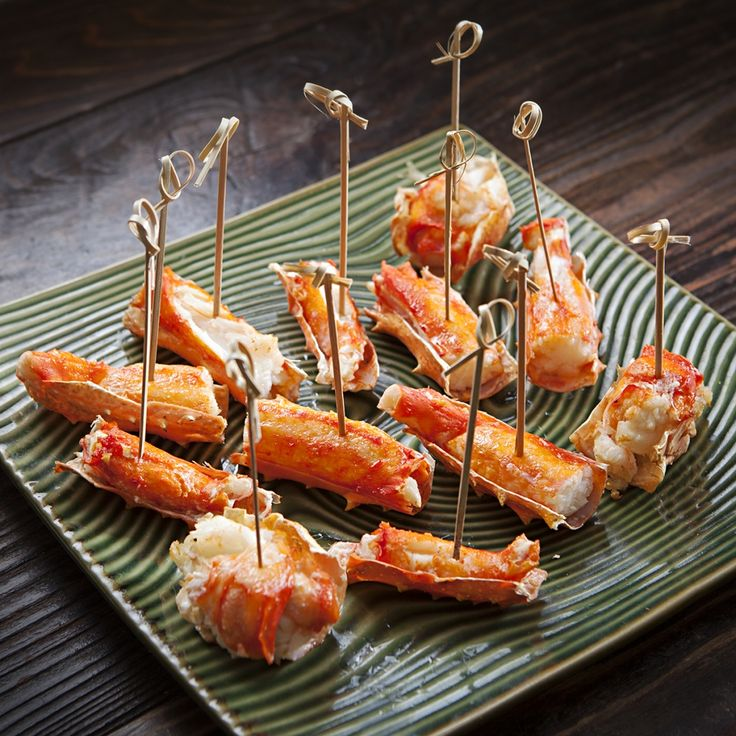 Roasted King Crab Legs with Drawn Butter