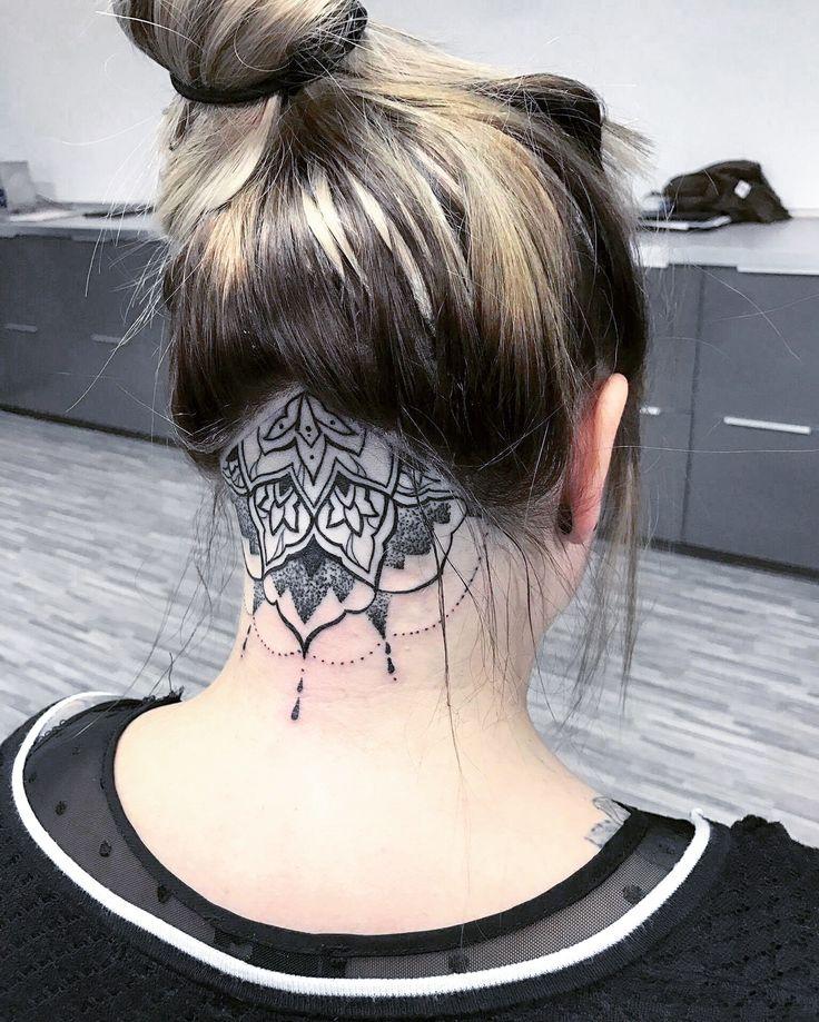 #tattoo #undercut #head #blackandwhite  #tattoos #tat #ink #inked #tattooed #tattoist  #art #design #tatted #bodyart #tatts #tats #amazingink #tattedup #inkedup #dotwork #mandala #black #white #neck #scrag #germany #schwarz #weiß #nacken #hals #kopf