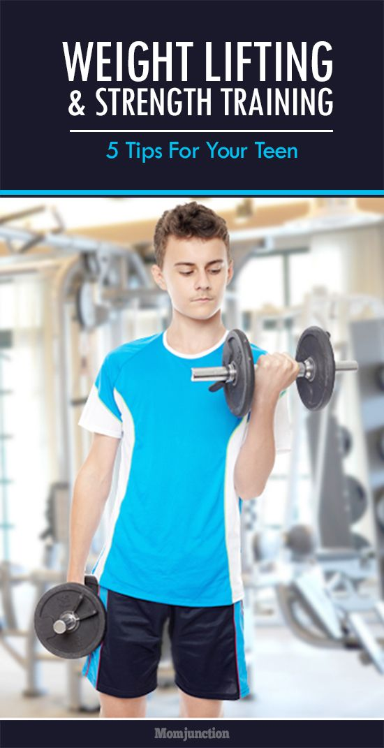5 Weight Lifting And Strength Training Tips For Your Teen