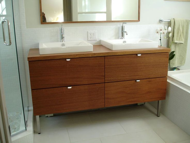 1000 images about master bath on pinterest miami for Ikea double bathroom vanity