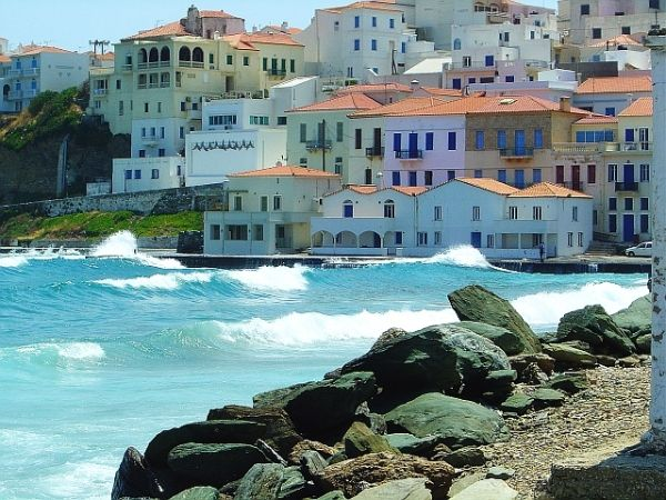 Andros, Greece. One day I will make it there!