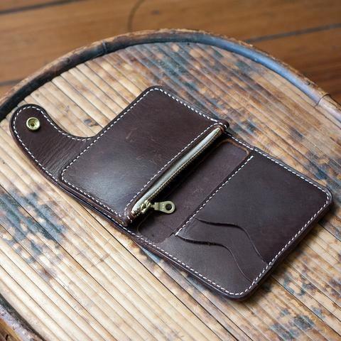 Vertical Snap Wallet Acrylic Template Set