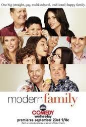 My favorite comedy TV sitcom :) MODERN FAMILY