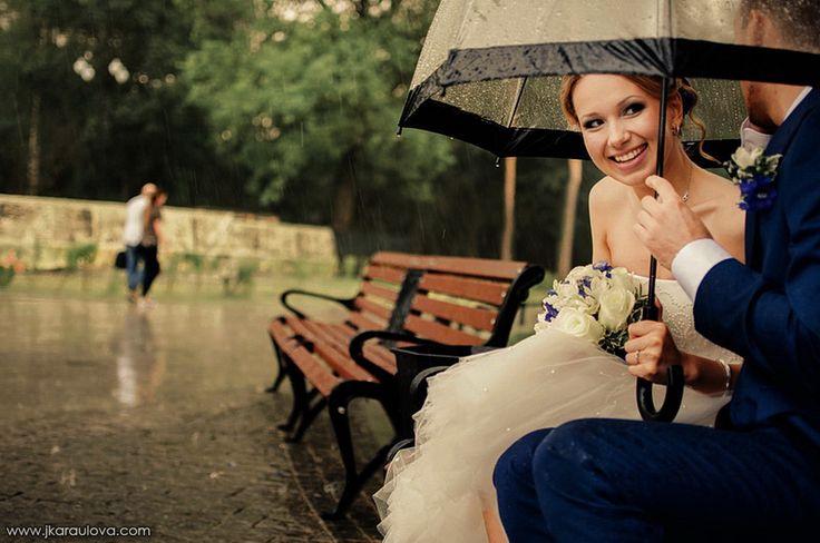rainy wedding of Kirill&Daria