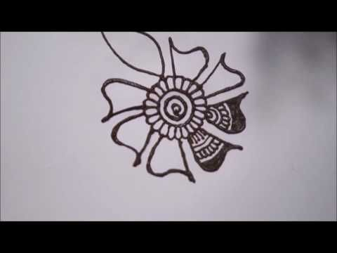 How To Learn Arabic Mehndi Design (First Day Class) - YouTube #howtolearnarabic