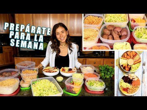 Preparacion de comida vegana para la semana youtube for Cocinar una tarde para toda la semana