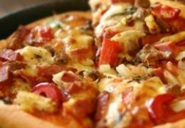 Miniatura do Pizza Crocante de Tomate Seco