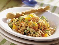 Crunchy Chicken Salad recipe from Betty Crocker (this one gives me ideas for chicken salad)