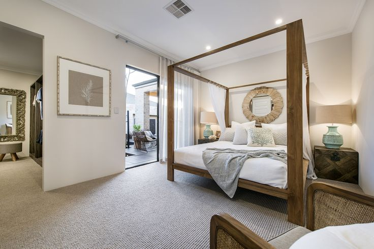 The Chalina.  This master suite is discreetly tucked away; but what you find is anything but modest. Here, a superbly designed space incorporates the ultimate walk-in robe, leading into your own private ensuite.