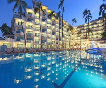 Puerto Vallarta Vacations - Fiesta Americana Puerto Vallarta All-Inclusive, All Adults Resort. Sharing special times together is the essence of this grand hotel in Mexico`s legendary Pacific Coast resort town in Puerto Vallarta.