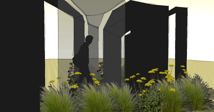 The project spatial sculpture Author: Sławomir Durok