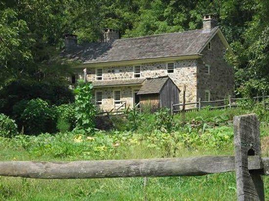 Colonial Pennsylvania Plantation Photo 18th Century Farmhouse