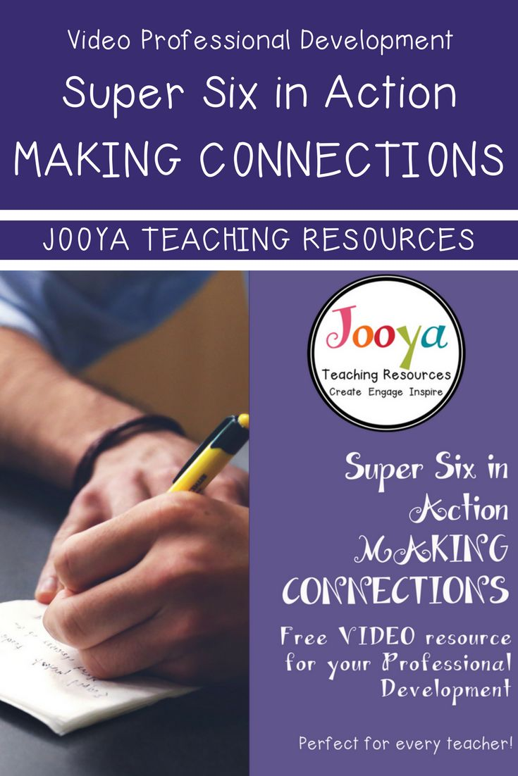 FREE Professional development for busy teachers from Jooya Teaching Resources. Check out this video training on using the Super Six strategy – Making Connections. The video shows you tips, tricks and how this strategy is used in the General Music classroom.