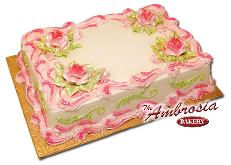 Happy Mothers Day Sheet Cake