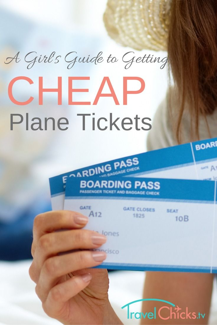 A Girl's Guide To Getting Cheap Plane Tickets. (I'd love to take M and C on their first plane ride!)