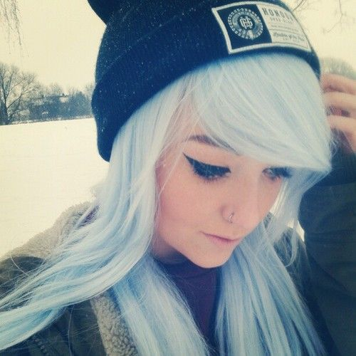 I love the ice blue hair, just wish I could find a way to ... - photo #42