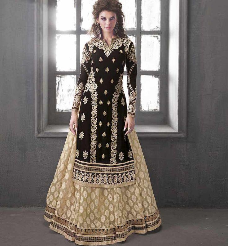 long dress indian style underground