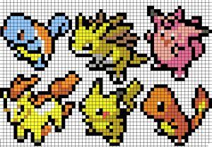8-Bit Pokemon patterns