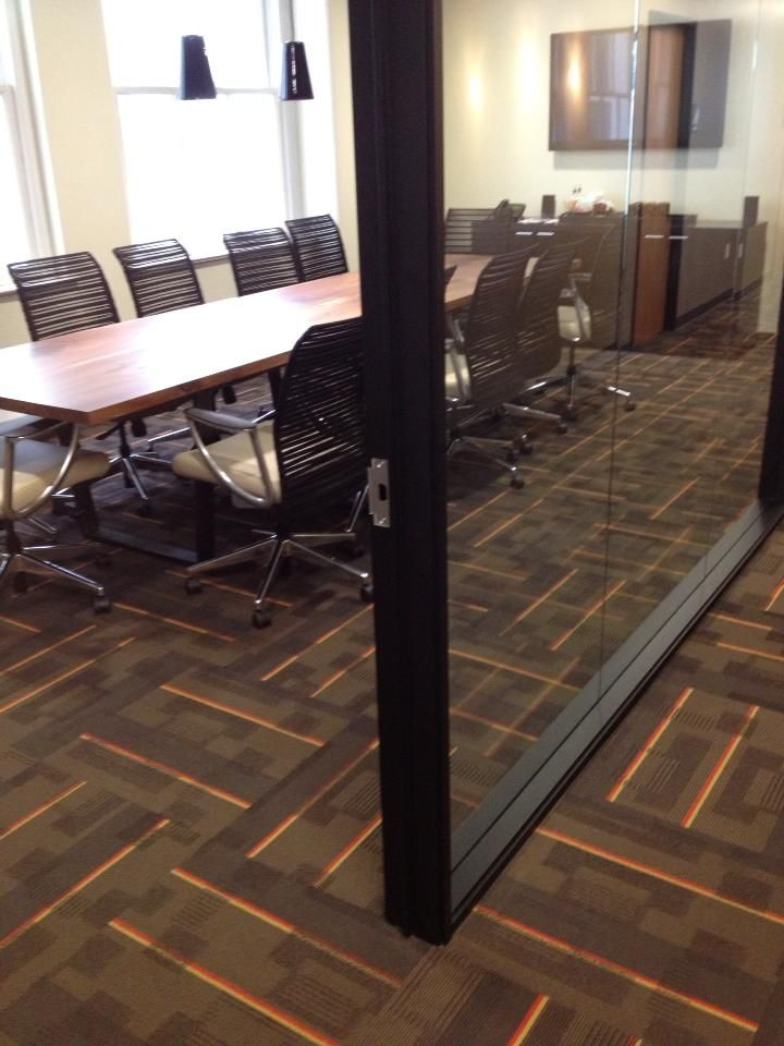 Myhre Group Architects In Portland Oregon Chose Modern Geometry Brites For Their Office Space