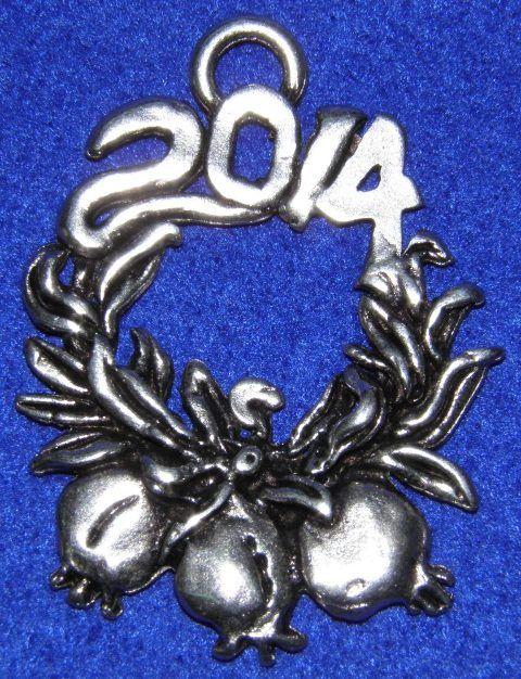 http://lucas.com.gr/el/our-shop/beads/silver-plated-beads/gouria-2014-detail.html Γούρι 2014 στεφάνι με ρόδια