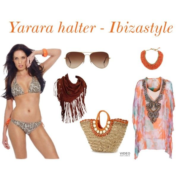 """Yarara halter"" by debbyputter on Polyvore"