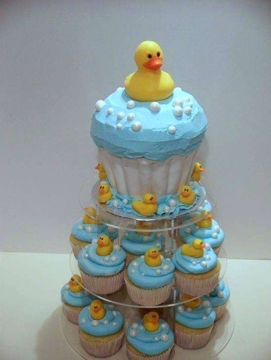Rubber Ducky Baby Shower Ideas | Rubber Duckie Baby Shower Cake