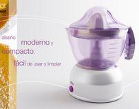 Braun - electric juicer by Moop , via Behance