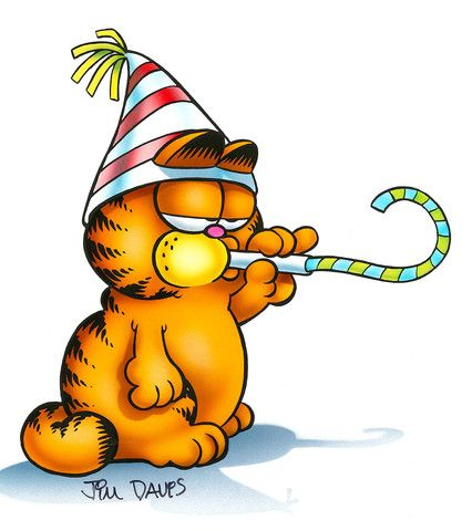 447 best garfield images on pinterest anniversary cards bday garfield airbrushed artwork its your birthday bookmarktalkfo Choice Image