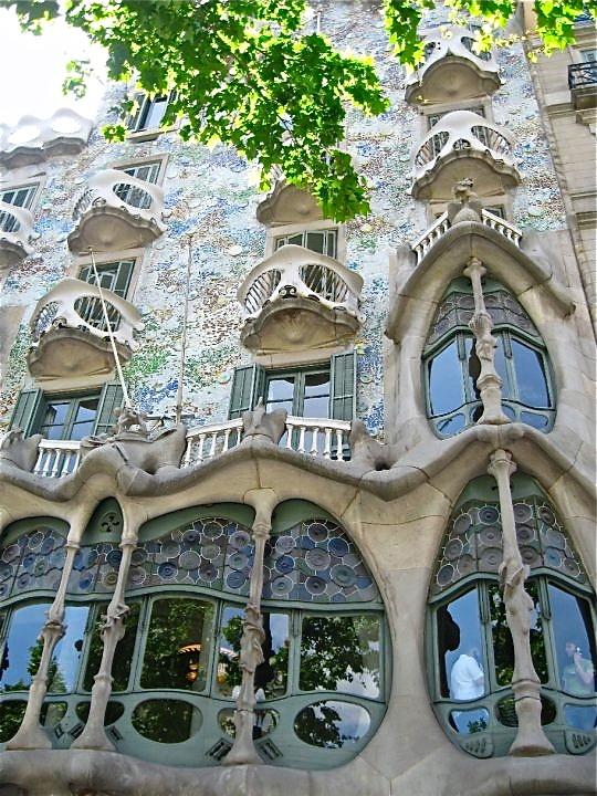 Gaudi's La Casa Mila, Barcelona, Spain - Photo by Aimee Kasten