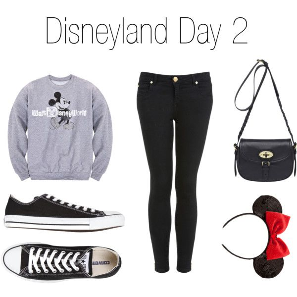 Disneyland Winter Outfit Ideas by musicluva18 on Polyvore featuring Disney, Miss Selfridge, Converse and Mulberry