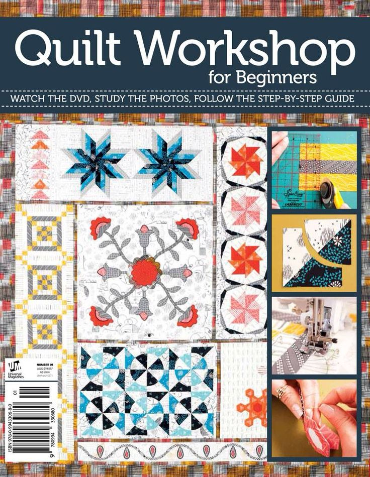 My latest book. A QAYG modern sampler quilt with a multitude of techniques. Comes with a 220 minute DVD as well. Fabrics used are from Art Gallery Fabrics.