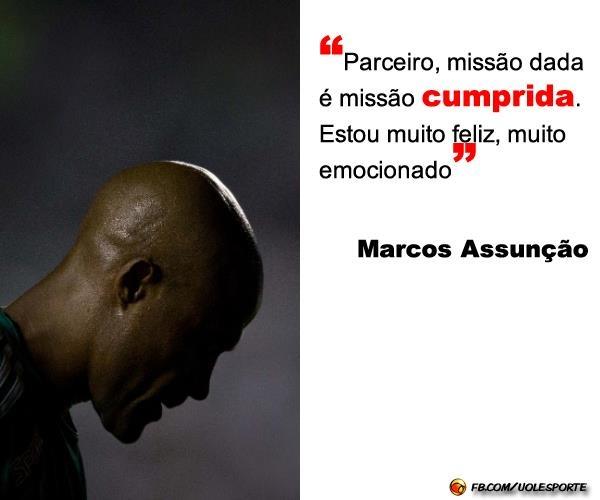 Marcos Assunção Comemora Conquista Com Frase Do Bope Missão Dada é