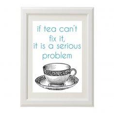 Tea problem print
