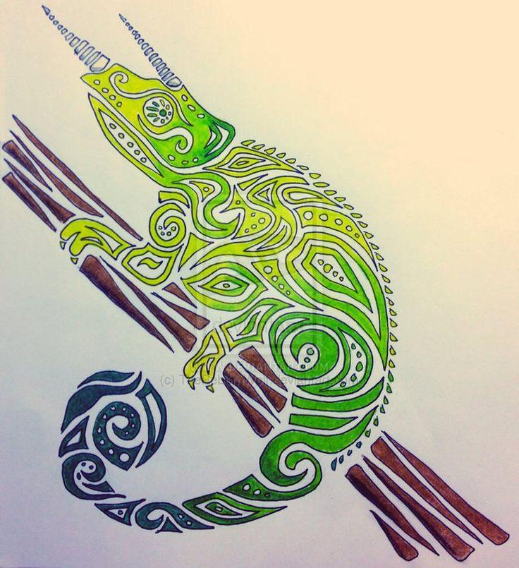Jackson Chameleon Tattoos