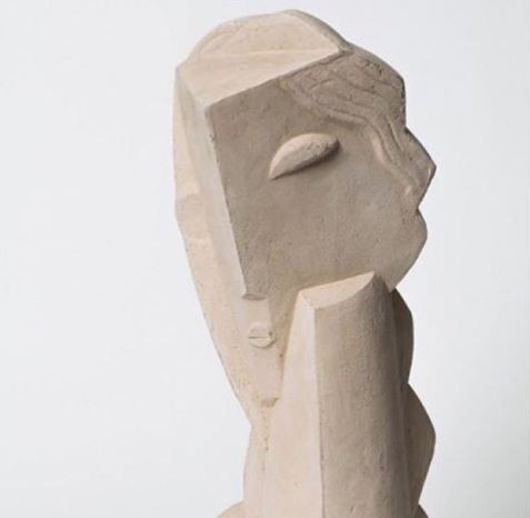 One of the artist that's a big inspiration for this project is the abstract work of French sculptor and illustrator Henri Laurens