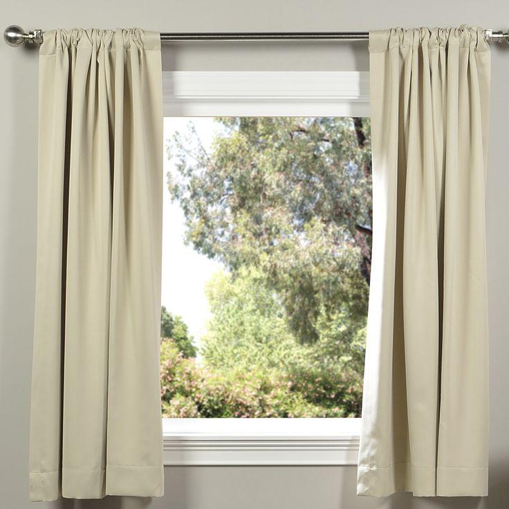 Plush Thermal Blackout Curtain Panels 40 best