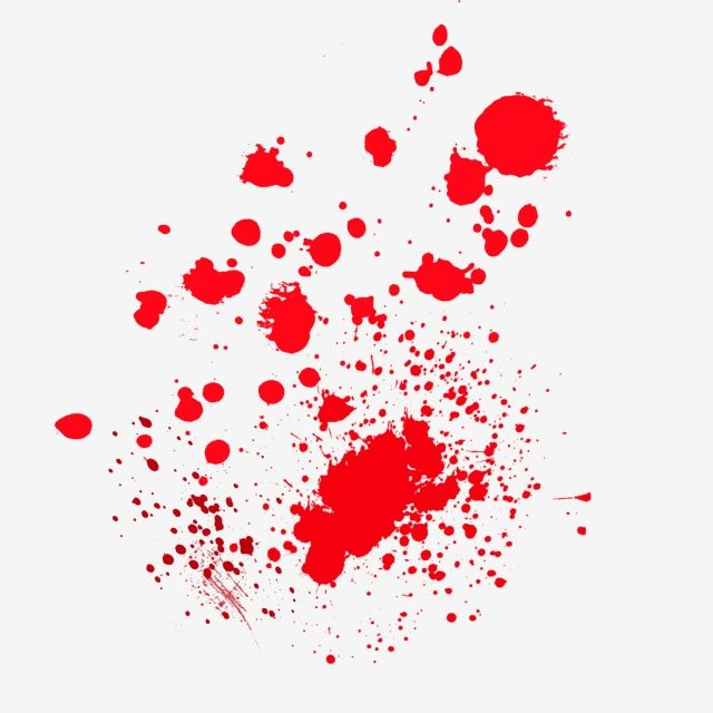 Blood Splash Png