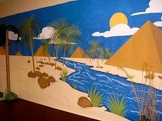 Ideas para decorar la Escuelita Bíblica de Vacaciones - Tema José en Egipto