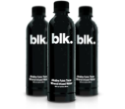 Blk. Fulvic Trace Mineral Infused Water 500mL  blk is premium fulvic-enhanced, all-natural mineral water.  blk is what happens when fulvic trace minerals are added to pure water. blk is powerful electrolytes and a high pH. blk is serious hydration. blk is a delicious beverage without any sugar, carbs or calories. blk is here and it will defy your expectations.