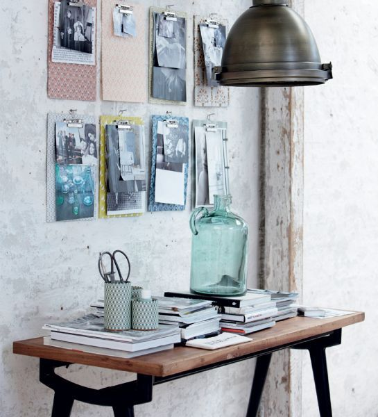Layer Fine Art Prints on clipboards for a gallery wall that's easy to change up.