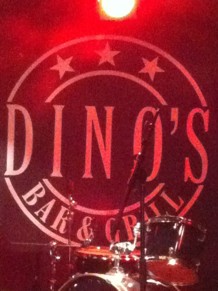 Dino's Bar & Grill in Mariehamn, Åland, Finland.  Yet another one of my favorite restaurants. Serving fusion cuisine, rock 'n' metal attitude and occasional live music with local beer to flush it down with.