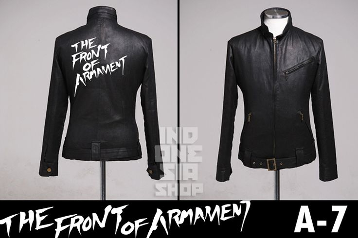 JaketArtis: Jacket TFOA - The Front of armament