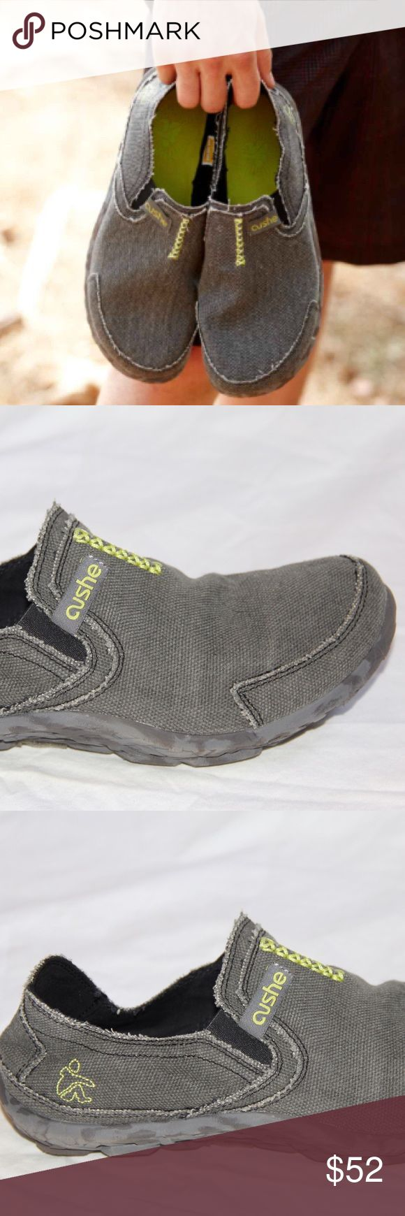 Men's cushe slipper shoes In excellent condition - worn once! Very lightweight.       **The Cushe Surf Slipper shoes slide on easy and offer remarkable, lasting comfort that's sure to please. ** cushe Shoes Loafers & Slip-Ons