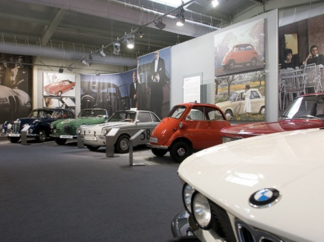 Bmw Car Museum, Munich, Bavaria, Germany