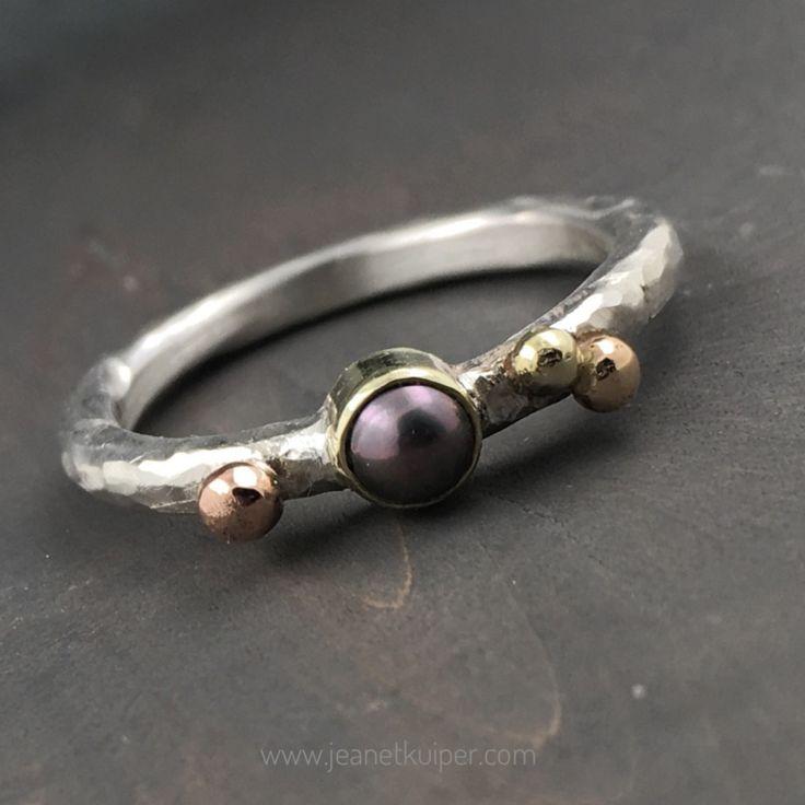 pareltje | Ringen | Atelier Jeanet Kuiper