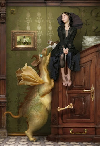 ♨ Intriguing Images ♨ unusual art photographs, paintings & illustrations - Dragon pets