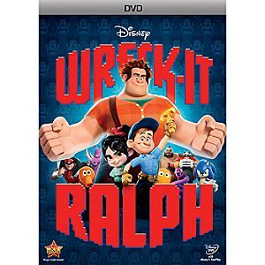 Disney Wreck-It Ralph DVD | Disney StoreWreck-It Ralph DVD - From Disney comes a hilarious, arcade-game-hopping journey in Wreck-It Ralph. For decades, Ralph has played the bad guy in his video game. In a bold move, he embarks on an  adventure to prove he is a true hero with a big heart.