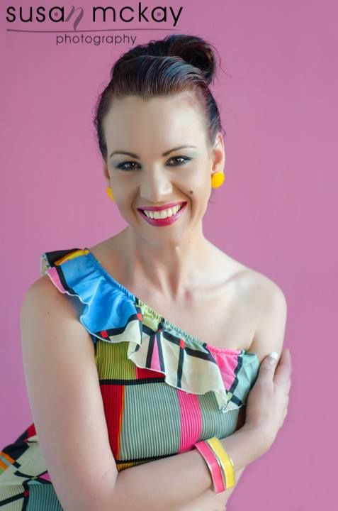 Glamour Shoot with Susan McKay.  Love the colours.  makeup, hair & styling by jenny
