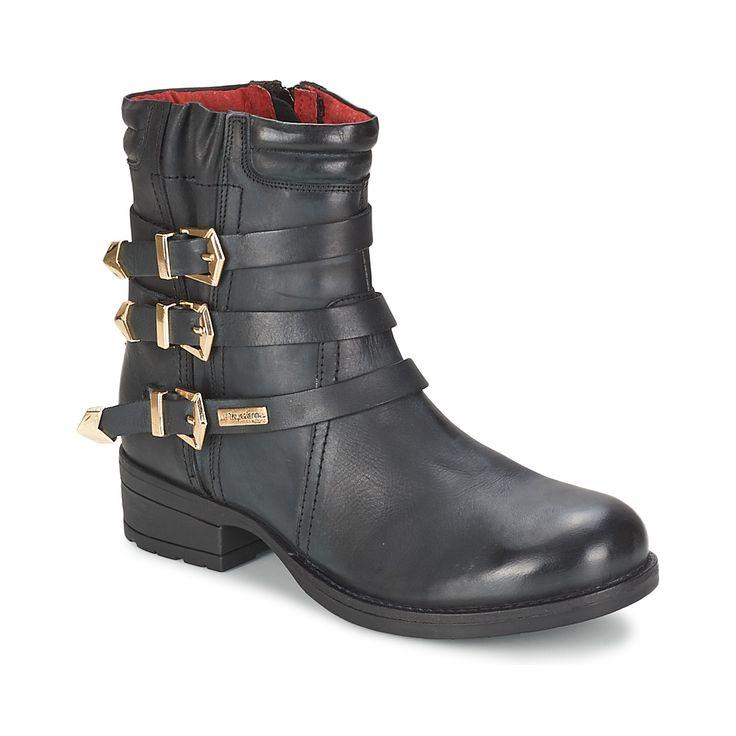 Boots Femme Spartoo, achat pas cher Boots Les Tropéziennes par M Belarbi GLOSS Noir prix promo Spartoo 119.90 € TTC